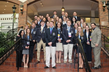 DECA Nationals East and West Group2016