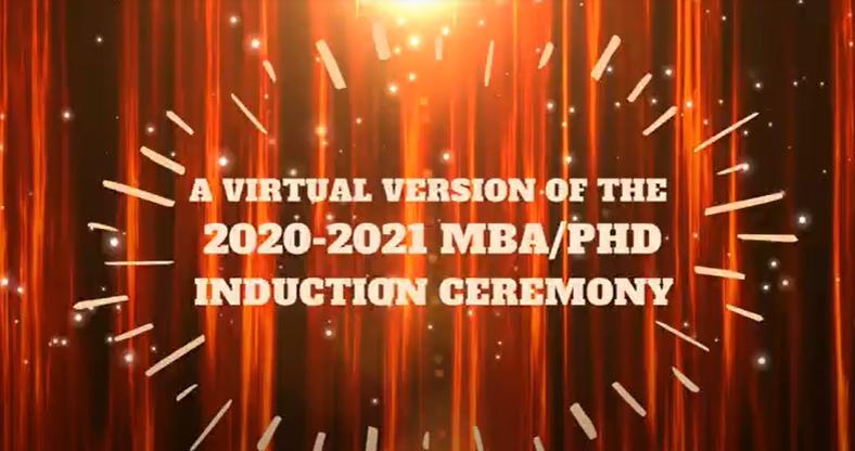 MBA PHD 2021